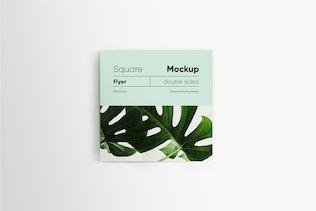 Thumbnail for Square Flyer Mockup