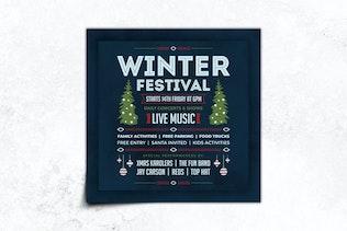 Thumbnail for Christmas Flyer Template Vol.3
