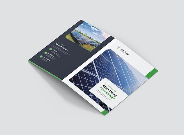 Brochure – Solar Energy Bi-Fold - product preview 1
