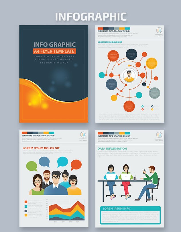 Infographics Template Design - product preview 4