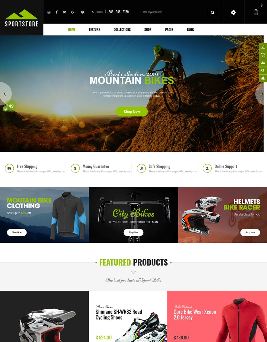 SportStore - Multipurpose Sections Shopify Theme - product preview 4