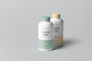 Thumbnail für Kosmetische Flasche Mock-up 4