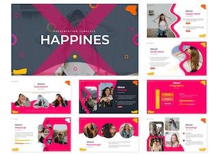 Миниатюра для Счастья | Шаблон Powerpoint