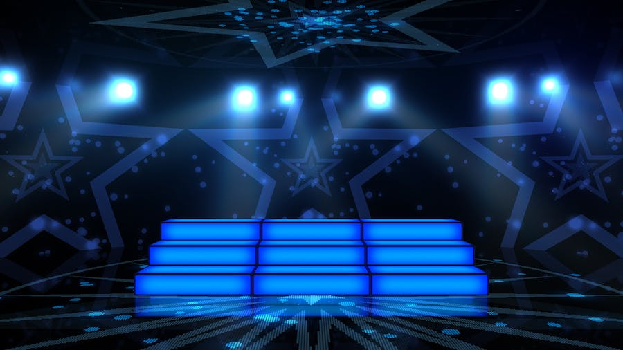 Party Stage Backgrounds - product preview 1
