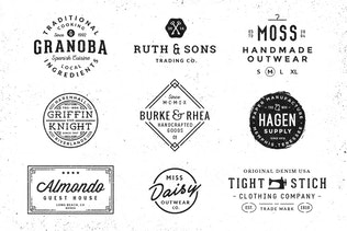 Thumbnail for 10 Logo/Badge Templates Vol.2