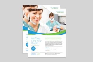 Clean Medical Flyer