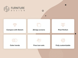 Thumbnail for Furniture Design UI Kit