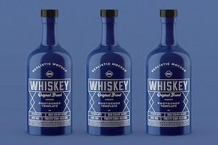 Thumbnail for Whiskey Bottle Mock-up Template