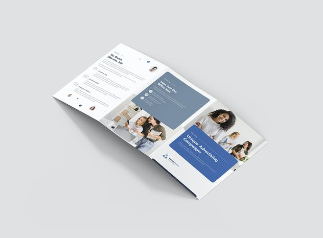 Brochure – Business Agency Tri-Fold A5 - product preview 1