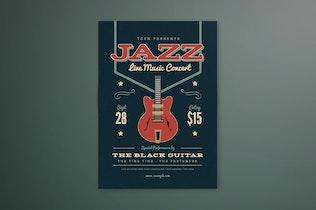 Thumbnail for Music Jazz Flyer/ Poster