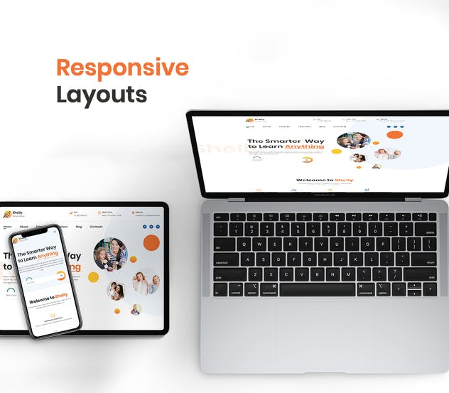 School Website Template - product preview 2