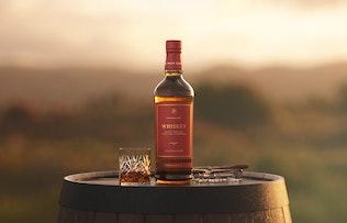 Thumbnail for Whiskey Bottle Mockup - Sundown Set 1