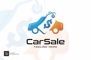 Thumbnail for Car Sale - Logo Template