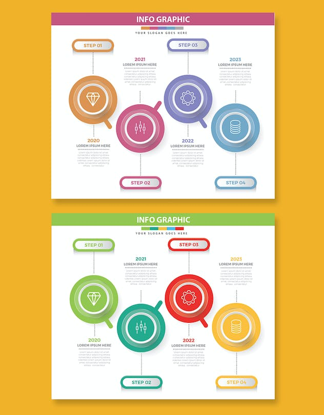 Infographics design - product preview 1