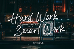 Thumbnail for Panterick // Handwritten Font