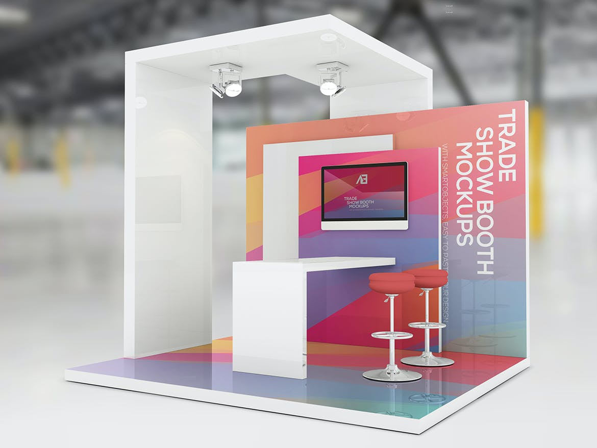 Trade Show Booth Mockups Vol2 by Wutip on Envato Elements