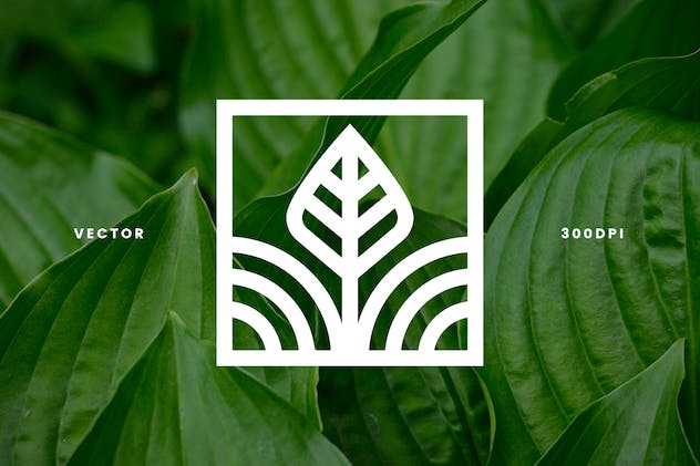 Mini Nature Line Logos - Volume 2 - product preview 2