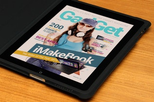 Thumbnail for Interactive Magazine Template