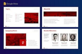 Thumbnail for Manufacturer Google Slide Presentation