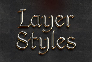 Thumbnail for Chrome & Fire Photoshop Layer Styles