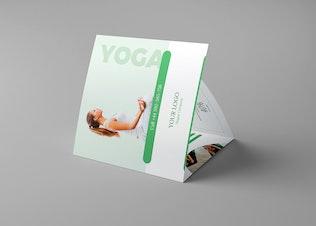 Brochure – Yoga Tri-Fold Square