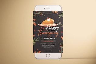 Miniature pour Joyeux Thanksgiving dépliant