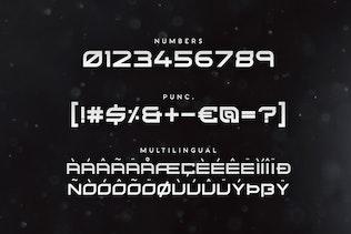 Miniatura para Kusanagi - Fuente Futurista