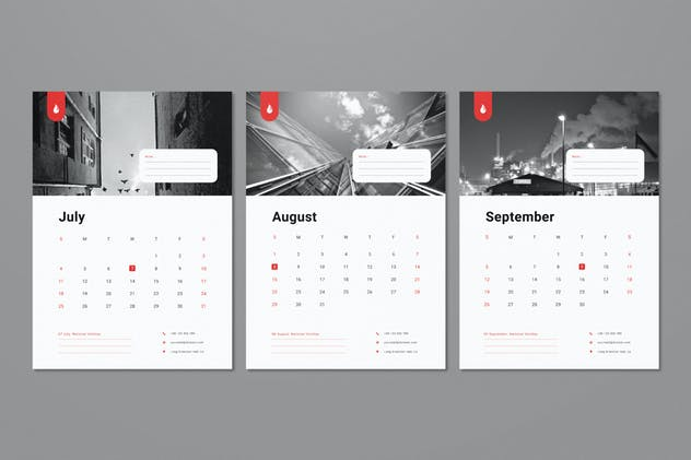 Wall Calendar 2021 - product preview 3