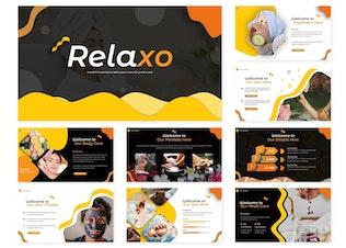 Миниатюра для Relaxo | Шаблон слайдов Google