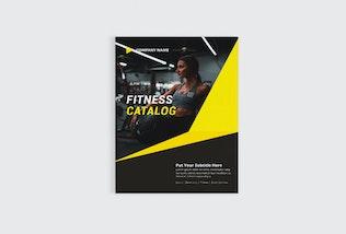 Thumbnail for Fitness Catalog Brochure