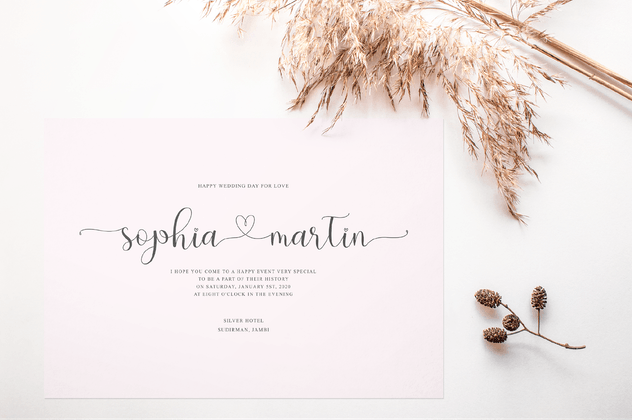 Hello Olive - Script Font - product preview 5