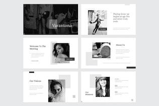Thumbnail für VARANTONA - Powerpoint-Vorlage V129