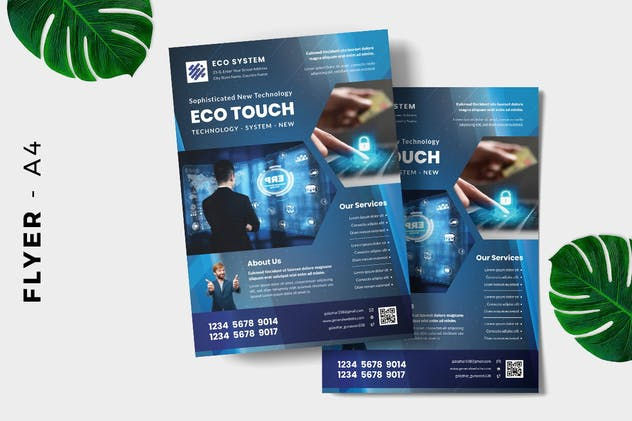 Computer Technology Flyer Design - product preview 1