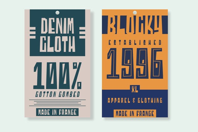 Blocky | Display Font - product preview 6