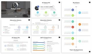Thumbnail for Mea - Portfolio Powerpoint Template