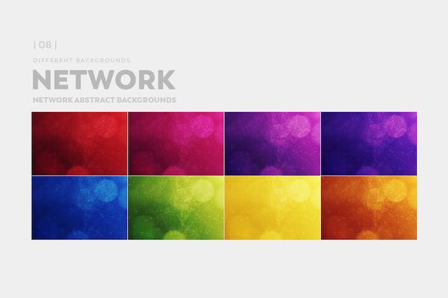 Network Abstract Backgrounds - product preview 5