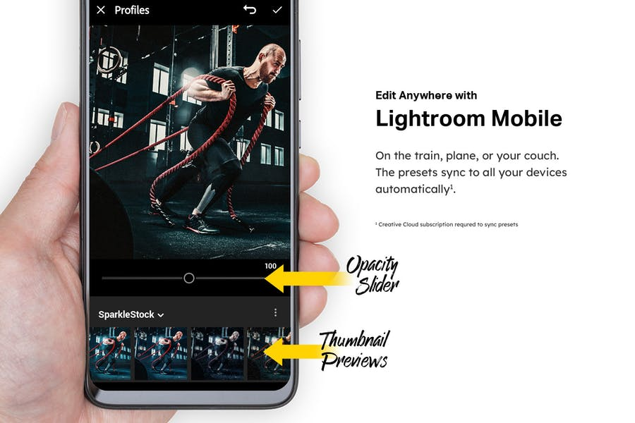 40 Fitness Lightroom Presets and LUTs - product preview 6
