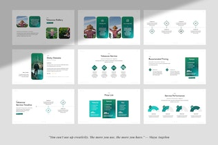Tobaccos Creative Business Powerpoint