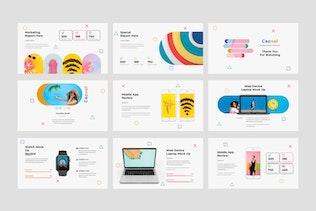 Thumbnail for Capsul Creative Google Slide Presentation Template