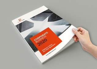 Thumbnail for Samawa - A4 Business Corporate Brochure Template