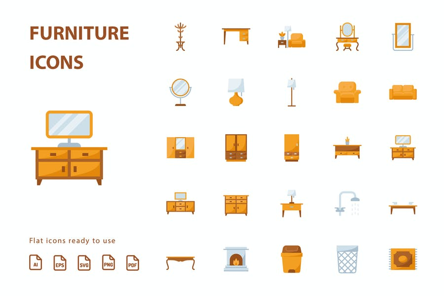 Furniture Flat Part 2 - product preview 1