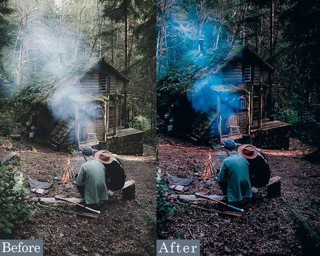 Vibrant Forest Effects Photoshop Actions - product preview 1