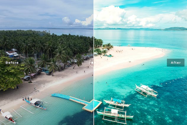 Siargao Island Mobile & Desktop Lightroom Presets - product preview 4
