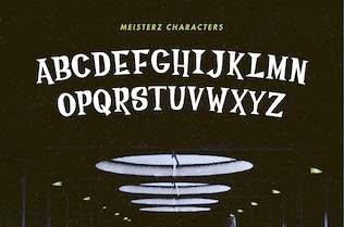 Thumbnail for Meisterz Typeface
