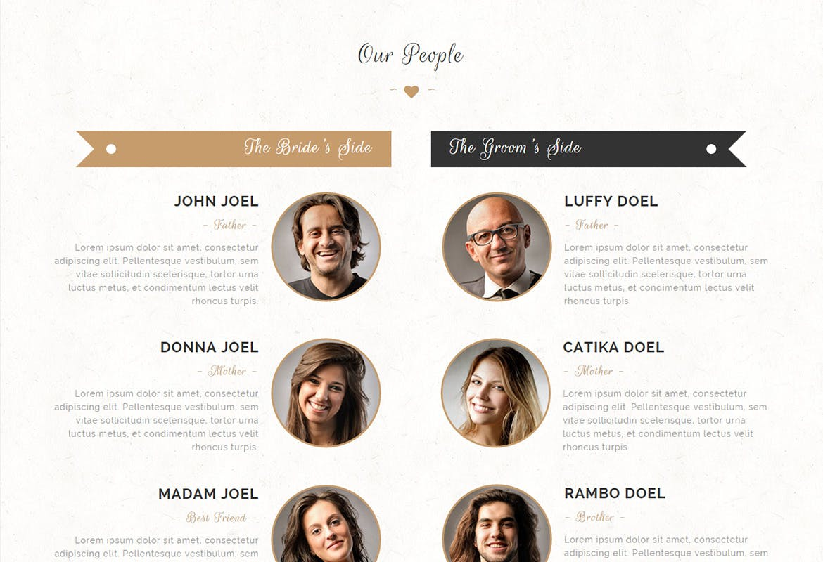 Alife - Wedding Invitation Muse Template YR