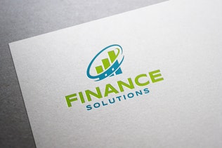 Thumbnail for Finance Solutions Logo Design