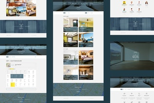 Thumbnail for Visitor — Online Hostel/Hotel Booking PSD Template