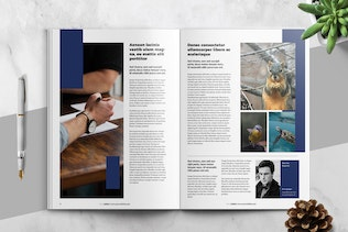Thumbnail for Corporate Business Newsletter Template