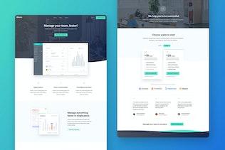 Thumbnail for Berlin - Landing Page UI Kit