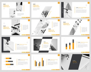 Thumbnail for Ray - Stylish PowerPoint Template